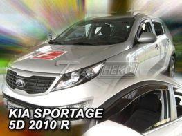 Ветровики KIA Sportage III (SL) (2010-) 5D HEKO