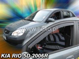 Ветровики KIA Rio II (2005-2010) 5D HB HEKO