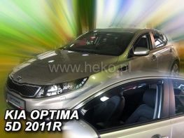 Ветровики KIA Optima (TF) (2010-) 5D HEKO