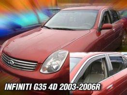 Ветровики INFINITI G35 (2003-2007) Sedan - Heko