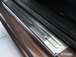 Накладки на дверные пороги SKODA Octavia A7 (13-) - AVISA