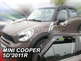 Ветровики MINI Cooper III (2011-) 5D HEKO