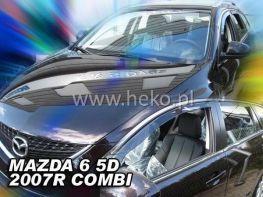 Ветровики MAZDA 6 II GH (2007-2012) Combi HEKO