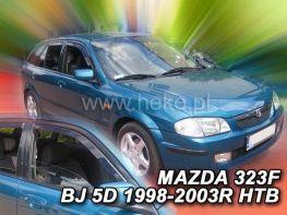 Ветровики MAZDA 323F BJ (98-03) Hatchback - Heko (вставные)