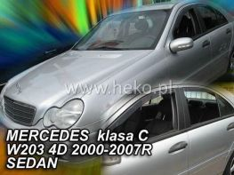 Ветровики MERCEDES C W203 (00-07) Sedan - HEKO