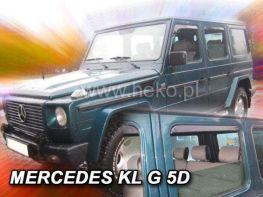 Дефлекторы окон MERCEDES KL G 5D HEKO