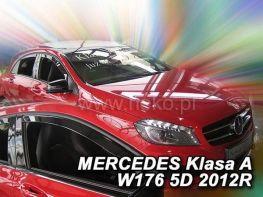 Ветровики MERCEDES W176 (12-18) 5D - HEKO