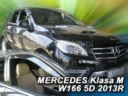 Ветровики MERCEDES M W166 ML 63 (11-19) - HEKO