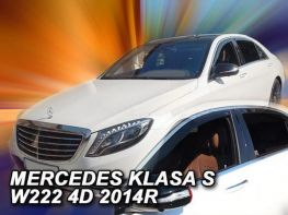 Ветровики MERCEDES S W222 Long (14-20) - Heko (вставные)