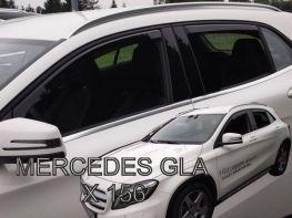 Ветровики MERCEDES GLA X156 (13-20) - Heko (вставные)