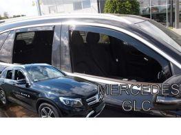 Ветровики MERCEDES GLC X253 (15-) - Heko (вставные)