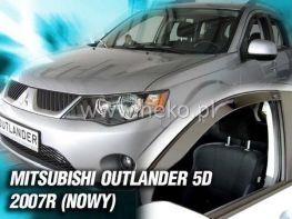 Ветровики MITSUBISHI Outlander XL (2007-2012) 5D HEKO