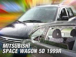 Ветровики MITSUBISHI Space Wagon (1997-2003) 5D HEKO