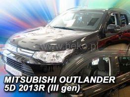 Ветровики MITSUBISHI Outlander III (2013-) - HEKO