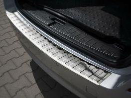 Накладка на задний бампер BMW 5 F11 (10-17) - Avisa