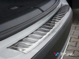Накладка на задний бампер BMW X1 F48 (16-) - Avisa
