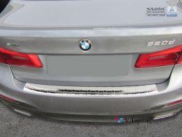 Накладка на задний бампер BMW 5 G30 (2017-) - AVISA