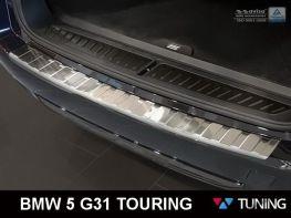 Накладка на задний бампер BMW 5 G31 Touring - AVISA