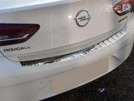 Накладка на бампер OPEL Insignia B (17-) Grand Sport - AVISA белая
