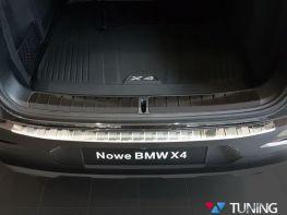 Накладка на задний бампер BMW X4 G02 (18-19) - AVISA