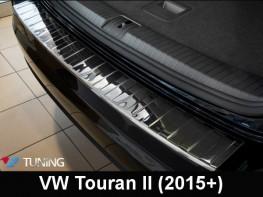 Накладка на задний бампер VW Touran II (2015-) - Польша