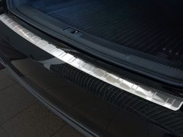Накладка на задний бампер AUDI A6 C7 (14-18) Sedan