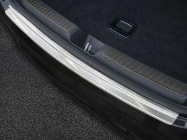 Накладка на задний бампер MERCEDES GLC Coupe C253 (15-19) - стальная