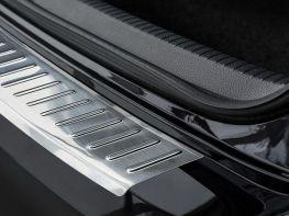 Накладка на задний бампер VW Jetta A6 (15-18) рестайлинг