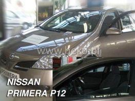 Ветровики вставные NISSAN Primera P12 (02-08) Sd/Hb HEKO