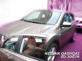 Ветровики NISSAN Qashqai J10 (07-13) - HEKO
