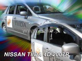 Ветровики NISSAN Tiida C11 (04-11) Sedan HEKO