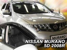 Ветровики вставные NISSAN Murano II Z51 (2008-2014) 5D HEKO