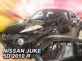 Ветровики NISSAN Juke F15 (2010-) HEKO