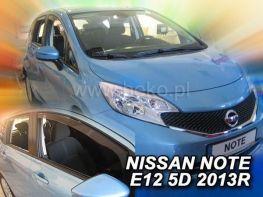 Ветровики NISSAN Note II E12 (2012-) 5D HEKO