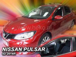 Ветровики NISSAN Pulsar C13 (2014-) 5D HEKO