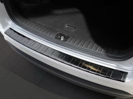 Накладка на задний бампер HYUNDAI Tucson III TL (18-19) - AVISA (чёрная)