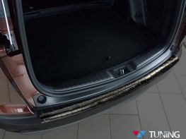 Накладка на задний бампер HONDA CR-V V (17-19) - чёрная
