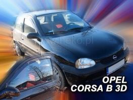 Ветровики OPEL Corsa B 3D HEKO