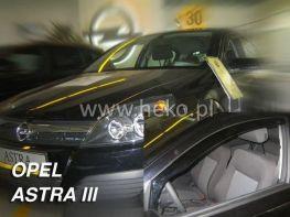 Ветровики OPEL Astra H GTC (05-10) 3D HEKO