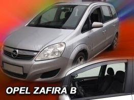 Ветровики OPEL Zafira B (2005-2014) 5D HEKO