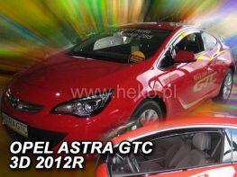 Ветровики OPEL Astra J GTC (2010-) 3D HEKO
