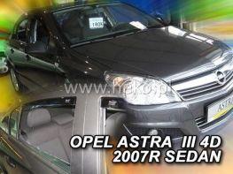 Ветровики OPEL Astra H (07-14) Sedan HEKO