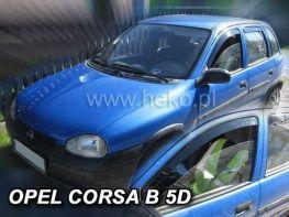 Ветровики OPEL Corsa B 5D Hatchback HEKO
