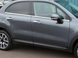 Хром нижние молдинги стёкол FIAT 500X (15-)