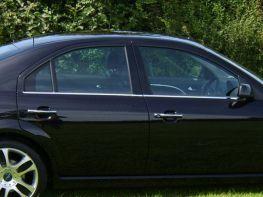 Хром нижние молдинги стёкол FORD Mondeo III (00-07) Sedan