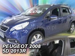 Дефлекторы окон PEUGEOT 2008 (2013-) - HEKO