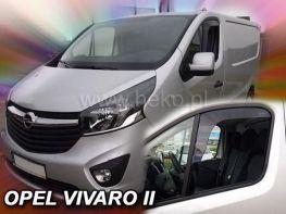 Ветровики OPEL Vivaro B (14-19) - Heko (вставные)
