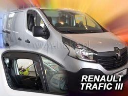 Ветровики RENAULT Trafic III (2014-) - Heko (вставные)