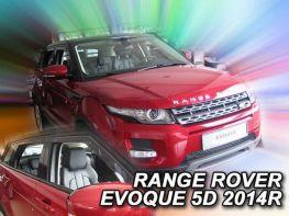 Ветровики Range Rover Evoque L538 (11-18) 5D - Heko (вставные)