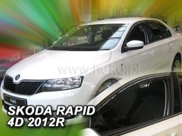 Ветровики SKODA Rapid (2012-) Liftback - HEKO